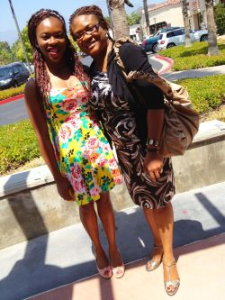 chicblackchick:  Mother's Day Brunch with the best mom I could ever ask for!  First mother's day away from home was tougher than I thought it would be :) Thank goodness for skype though at least I got to see everyone. I just need to make it through these last few weeks then I'm homeward bound!