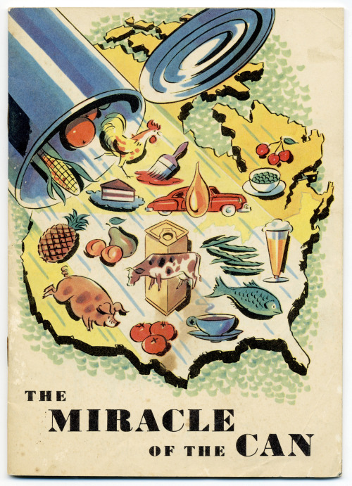 """Cover of an 1952 American Can Co marketing brochure."""