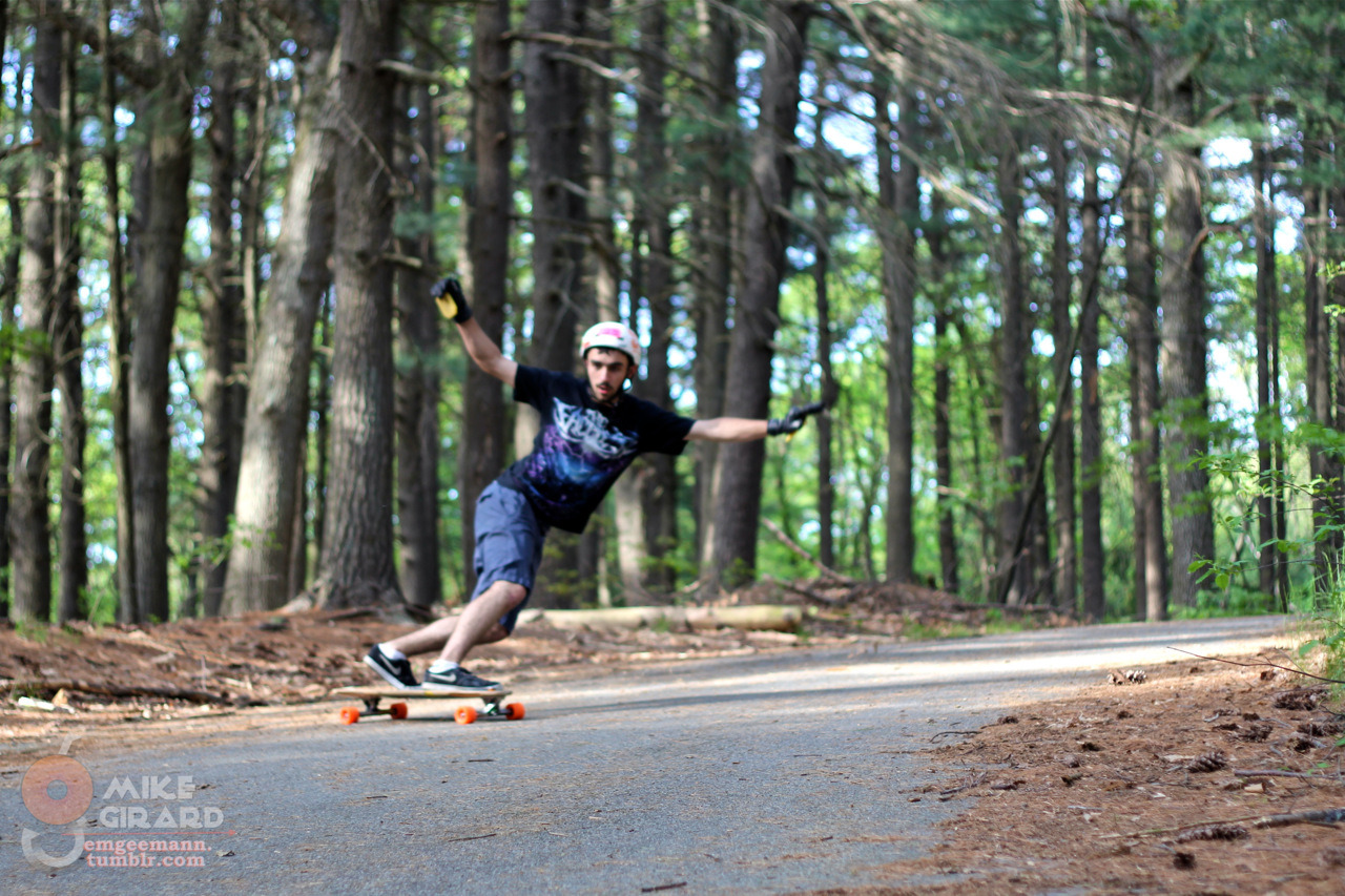 emgeemann:  Woodland Toeside. Norman Plante keeps his check well-rooted. -Mike