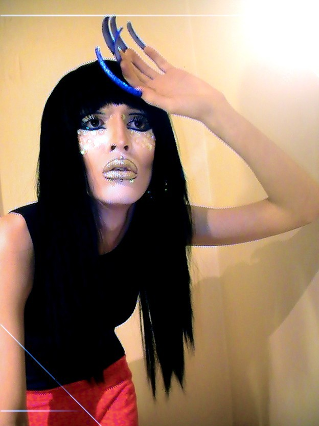 throwinshade:   Isis Mirage  berryfemme: pete burns' twin