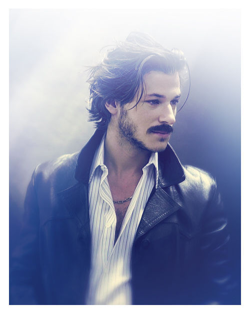 Whoa. This picture of Gaspard Ulliel is just whoa. I could write an entire book with a character based on this image of his just so I could refer back to it time after time.