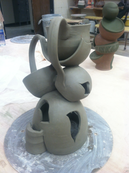 Sculpture (in progress)
