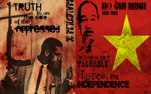 fuckyeahmarxismleninism:  May 19: Birthday of Malcolm X and Ho Chi Minh, two great revolutionary fighters for social justice and national liberation.