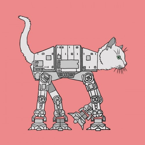 laughingsquid:  CAT-AT Imperial Walker