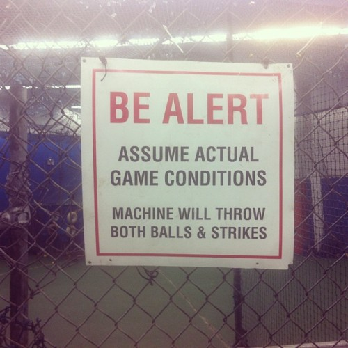 god I love the batting cages (Taken with instagram)