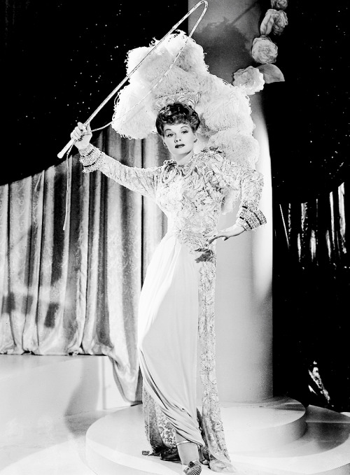 Lucille Ball photographed for Ziegfeld Follies, 1946