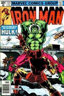 Cover of Iron Man #131. February, 1980. Art by Bob Layton.
