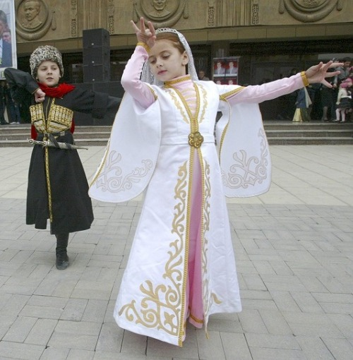 Chechen children dancing.