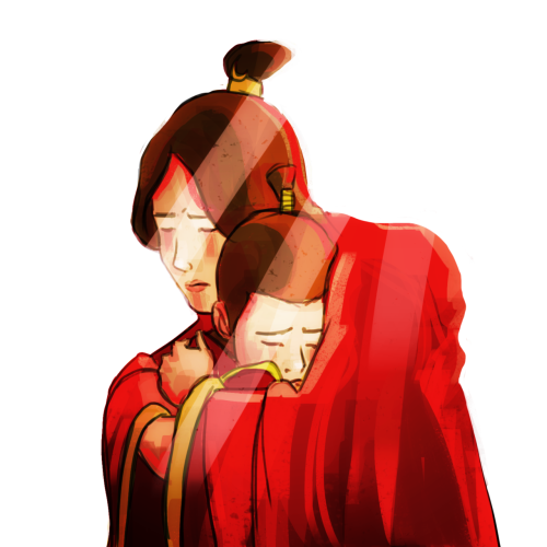 Ursa and Zuko… I am DYING to know what happened to zuko's mother… Seem's fitting for mothers day, no? :)
