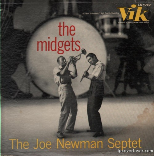 The Joe Newman Septet, The Midgets, LP cover (1957) Source: LP Cover Lover