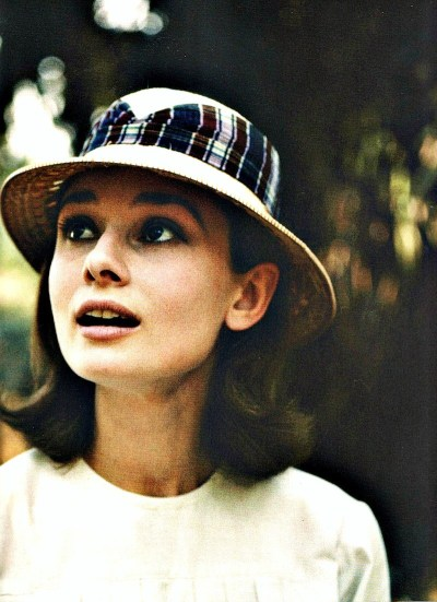 Leo Fuchs manages to capture Audrey Hepburn looking unaffected by the 130-degree heat of the Belgian Congo.  Unlike some of her co-stars who suffered heatstrokes, Audrey credited her nun's habit with protecting her from the heat during filming. She did, however succumb to a terrible case of kidney stones upon returning to Rome to finish the arduous 132-day shoot.  Once fully recovered, Audrey finished The Nun's Story and was nominated for a Best Actress Oscar for her performance as Sister Luke. Photographed in 1958.