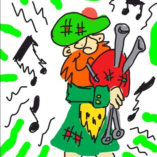 #DrawSomething #Bagpipes #Draw #Drawing #iPad #Art? #Fun  (Taken with instagram)