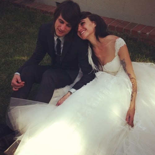 LIGHTS got married.   Awh.