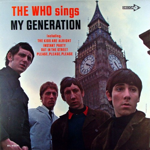 the—who:  My Generation
