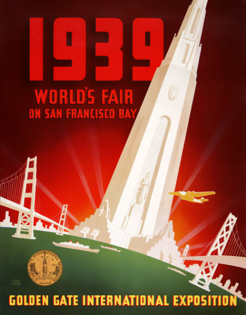 Poster for 1939 San Francisco World's Fair Source: Vintagraph