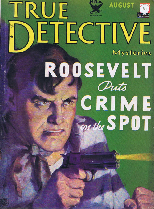 drakecaperton:  True Detective Mysteries August 1934