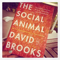 About to begin. Have you read? #books #social #davidbrooks #human #psychology (Taken with instagram)