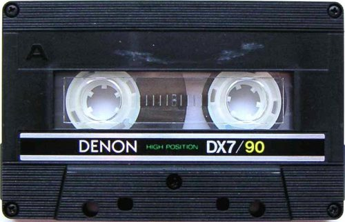 If you were into GOOD SOUNDING CASSETTES, you rocked DENON!