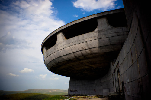 monument on buzludzha peak | bulgaria ~ scouse and jules photo