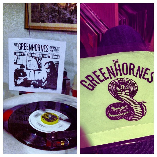 The #Greenhornes are my fucking jam  (Taken with Instagram at Long Beach)