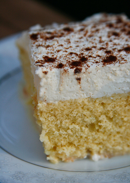 tres leches cake photo by the boastful baker