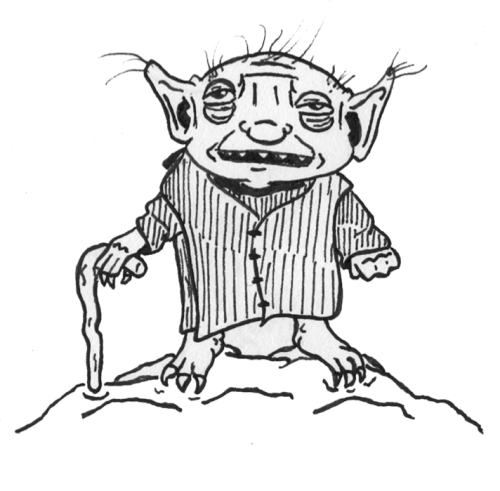 I just finished watching The Empire Strikes Back. This is Yoda. I love him.