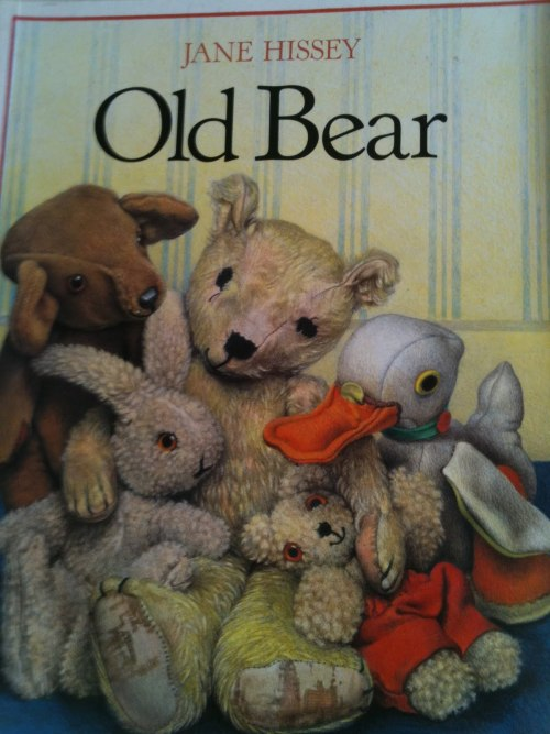 Old Bear by Jane Hissey.  (Did anyone else read this when they were a kid?  It was my favorite.)