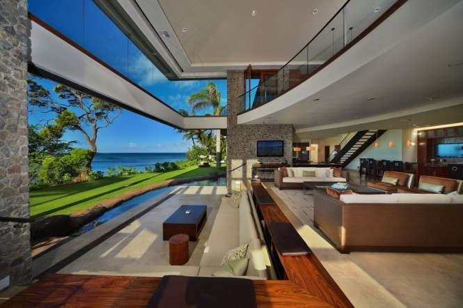 homedesigning:  Jewel of Kahana House  Anybody have $15mil lying around?