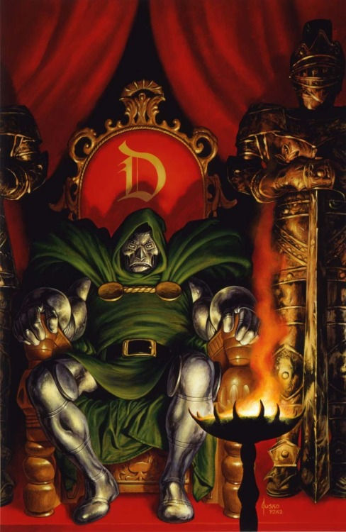 herochan:  Dr. Doom  Art by Joe Jusko  (via:comicsforever)