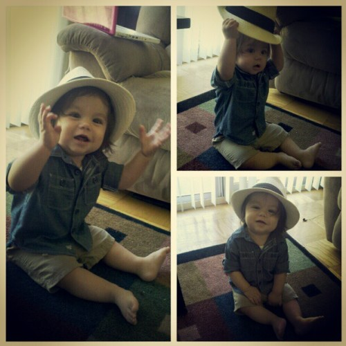 Oderic at 8 months :)) #proudmama (Taken with instagram)