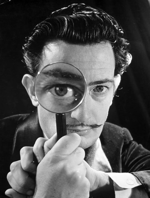 "myurlwastaken:  ""I don't use drugs. I am drugs."" -Salvador Dali"
