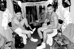 awkwardtbird:   Dancers backstage. by terry richardson