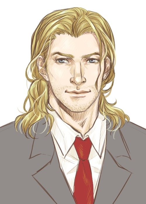 fenfenbutt:  frikadeller:  Thor's Midgardian passport photo.  *cackles in delight and reblogs this beauty with the greatest glee* ♥