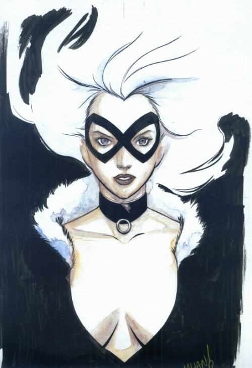 Black Cat by Pop Mhan