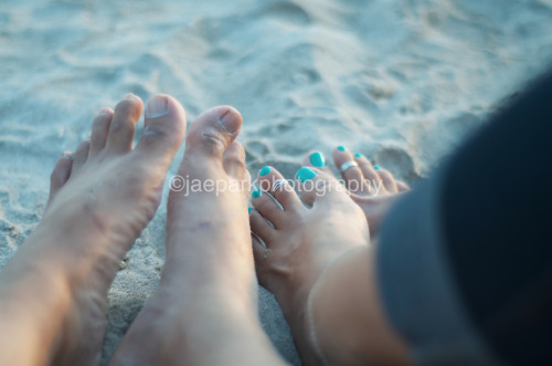 Us.  Taken with my Nikon D7000.  Sorry for inserting my ugly feet :).