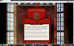 I was sure the hat would send me to Ravenclaw… o_o""