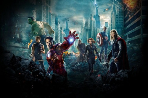 I think all the Avengers are super attractive. There is not one that is ugly. In my opinion. I even think Bruce Banner is attractive.  All the butt shots :)