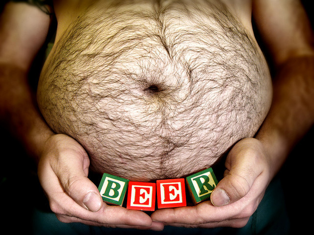 beer belly by fuzzirella on Flickr.