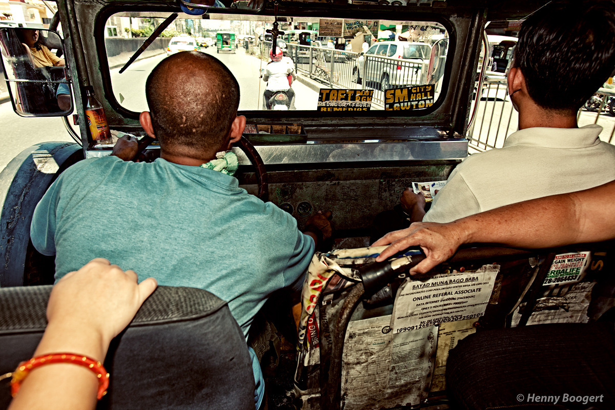 Inside a Jeepney | Life in Manila - Philippines, October 2011