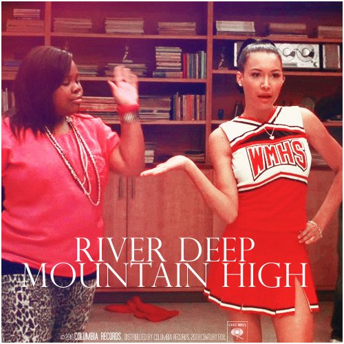 2x04 Duets | River Deep - Mountain High Requested Alternative Cover Requested by klainebowsaredelicious