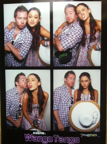 Ariana with her Dancer, Jon Erik Goldberg <3