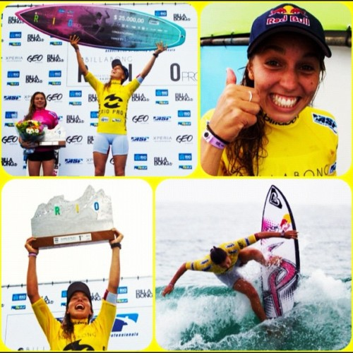 @sally_fitz winning the #billabongriopro! #gosally (Taken with instagram)