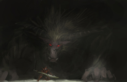thegreensavior:  Rajang  Sn* Definitely in my top five list of MH monsters