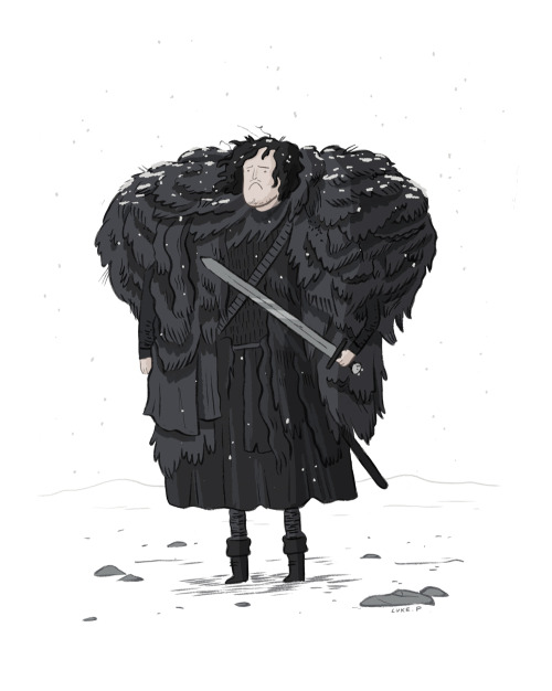 lukeperson:  Cheer up Jon Snow, it might never happen  But…SO ADORABLE.
