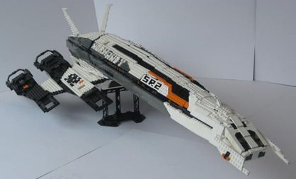 Lego Normandy SR-2 (via)