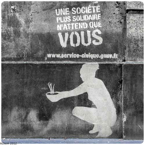 hmhbanal:  Paris, avenue G Mandel. Publicitégouvernementale?