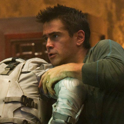 New Total Recall images arrive Total Recall has released a new batch of images featuring Colin Farrell, Jessica Biel and Kate Beckinsale blasting their way through some explodey-looking action…