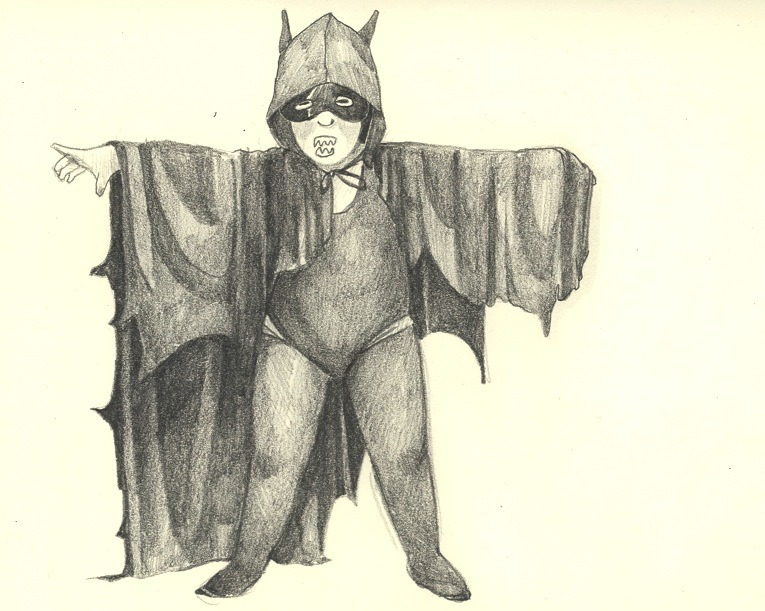 self portrait as batman