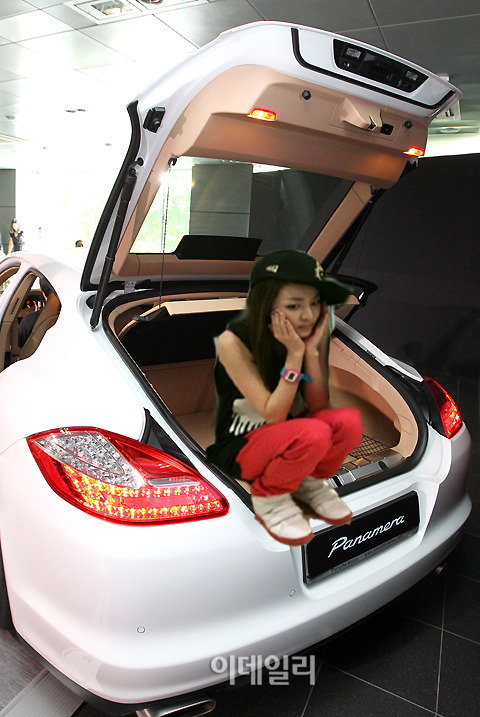 Lonely Dara in a trunk ~ ~