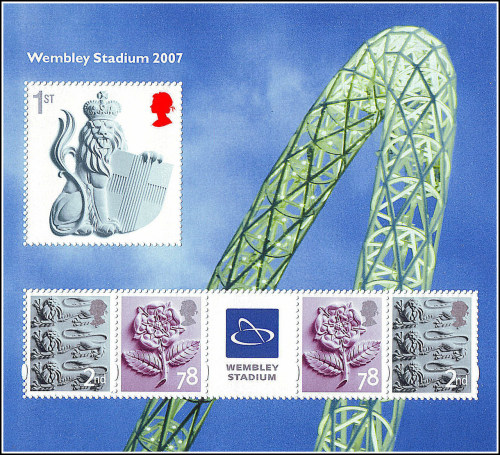 GB - Wembley Stadium 2007 The Football Stamps of Great Britain